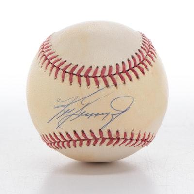 Ken Griffey, Jr. Signed Rawlings American League Baseball, COA