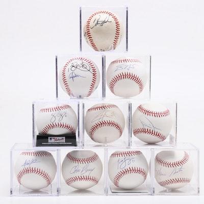 Former Cincinnati Reds Players Signed Rawlings Major League Baseballs