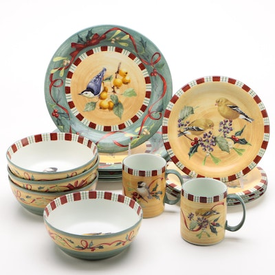 "Lenox ""Winter Greetings Everyday"" Ceramic Dinnerware, 1999 - 2011"