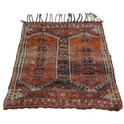 Hand-Knotted Anatolian Wool Tent Trapping