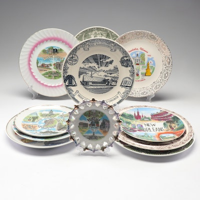 United States Landmark Collector Plates
