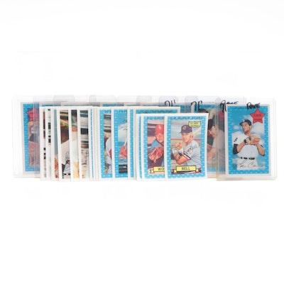 "1970, 1971, and 1974 Kellogg's Baseball ""3-D"" Baseball Cards"