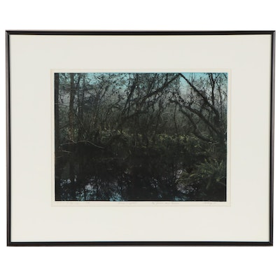"""Lew Wilson Colored Silver Gelatin """"End of the Beginning"""""""