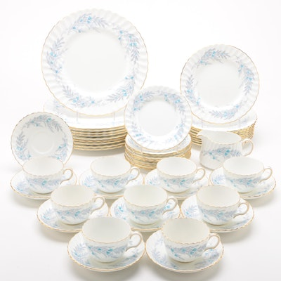 "Minton ""Belbrachen"" China Dinnerware for Nine, 1957 - 1974"