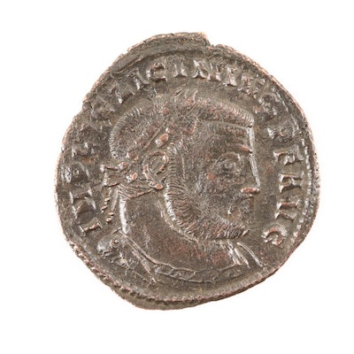 Ancient Roman Licinius I AE Follis, Circa 308-324 AD