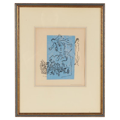Marc Chagall Gallery Card for Maeght Gallerie