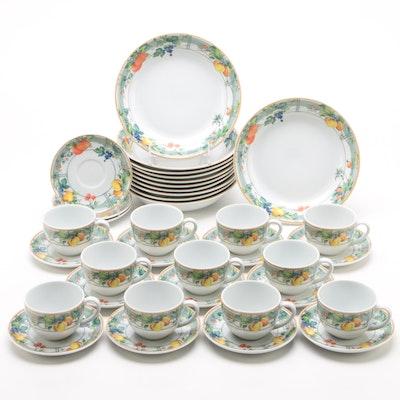 """Wedgwood Home """"Eden"""" Porcelain Dinnerware, 1995 - 2001"""