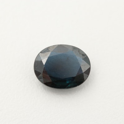Loose 2.29 CT Sapphire Gemstone