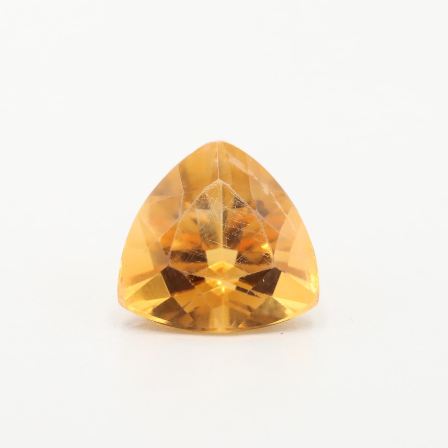 Loose 5.38 CT Citrine Gemstone