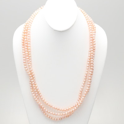 Endless Cultured Pearl Necklace