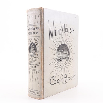 "1908 ""White House Cook Book"" by Zieman and Gillette"