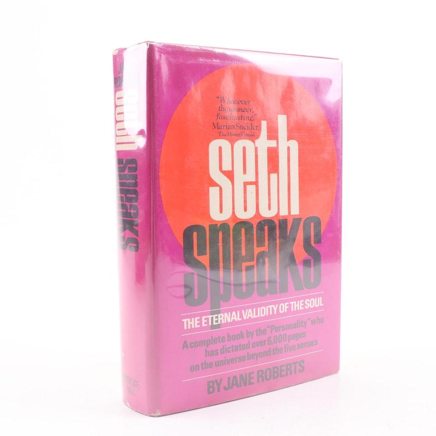 """1972 """"Seth Speaks"""" by Jane Roberts"""