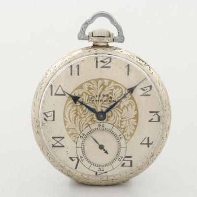 Antique Dueber-Hampden 14K Gold Filled Pocket Watch, 1915