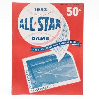 1953 All-Star Game at Crosley Field Baseball Program