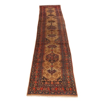 Hand-Knotted Persian Serab Wool Rug