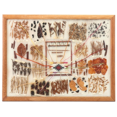 Rose Myers Navajo Style Natural Dye Weaving and Color Chart