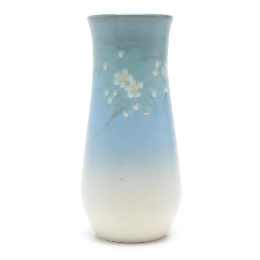 E. T. Hurley Rookwood Pottery Vellum Glazed Vase, 1928