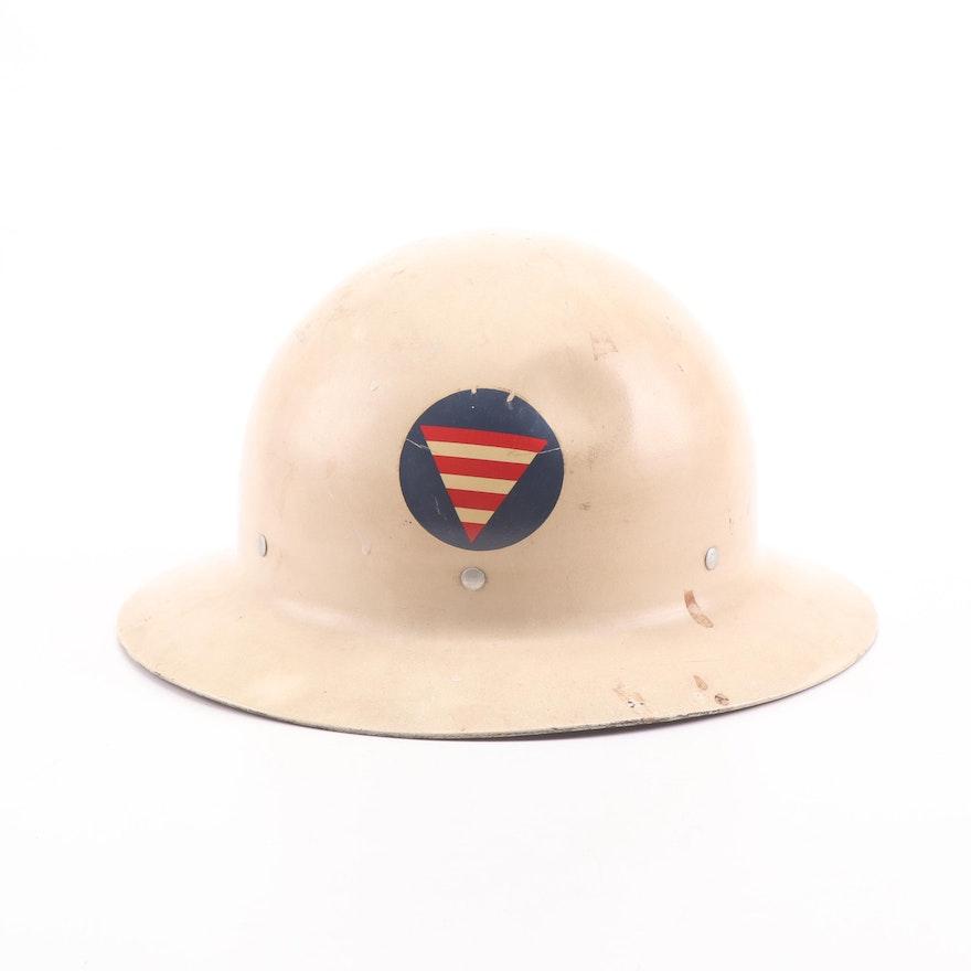 U.S. Government Civil Defense Helmet
