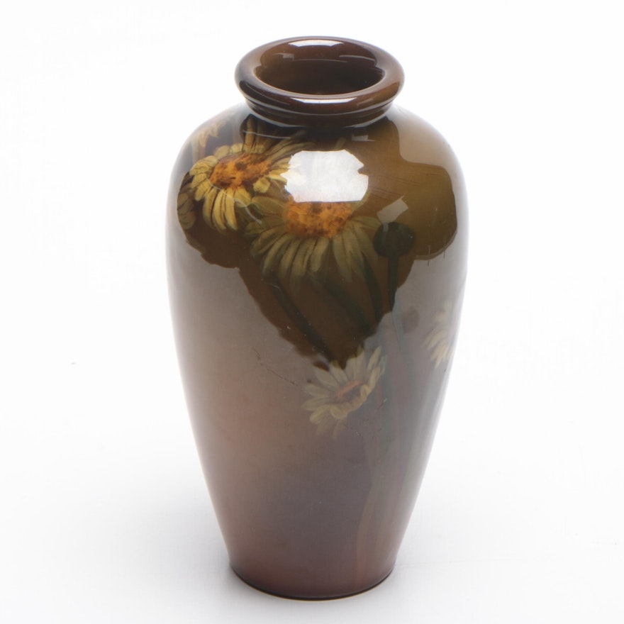 Carrie Steinle Rookwood Pottery Bud Vase, 1903