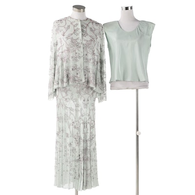 Marian Clayden Spring 2000 Classic Collection Barcelona Top with Viennese Skirt