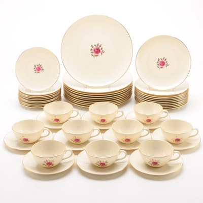 "Lenox ""Roselyn"" China Dinnerware for Ten, 1952 - 1980"