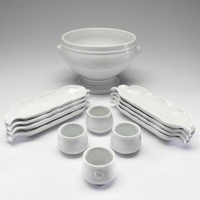 "Pillivuyt ""Culinaire White"" Porcelain Serveware"