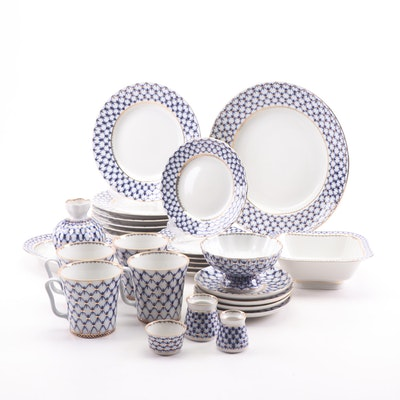 Russian Lomonosov Porcelain Dinnerware
