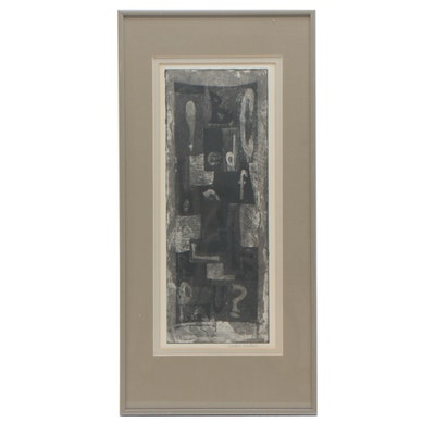 Carole Eisenstein Abstract Etching with Aquatint