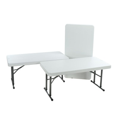 Lifetime Adjustable Folding Tables