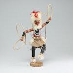 "A. Largo Hopi Kachina Doll ""Hoop"""