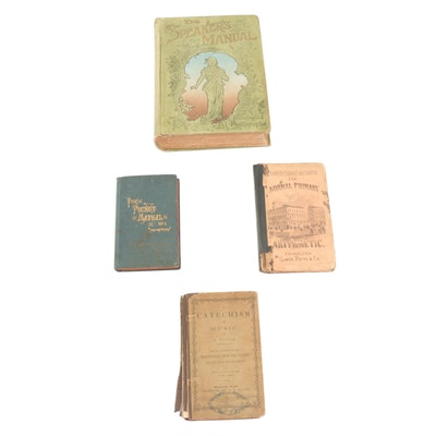 Pocket Books and Manuals, Mid to Late 19th Century