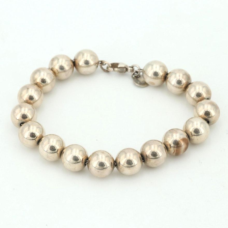b18dbe436 Tiffany & Co. Sterling Silver Bead Bracelet | EBTH