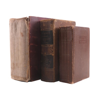 Antique Medical Books including Color Plates