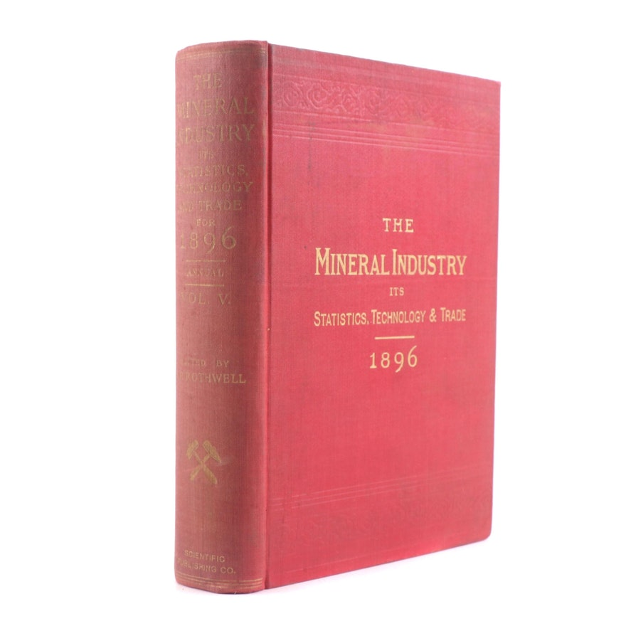 """1897 """"The Mineral Industry"""" Volume 5"""