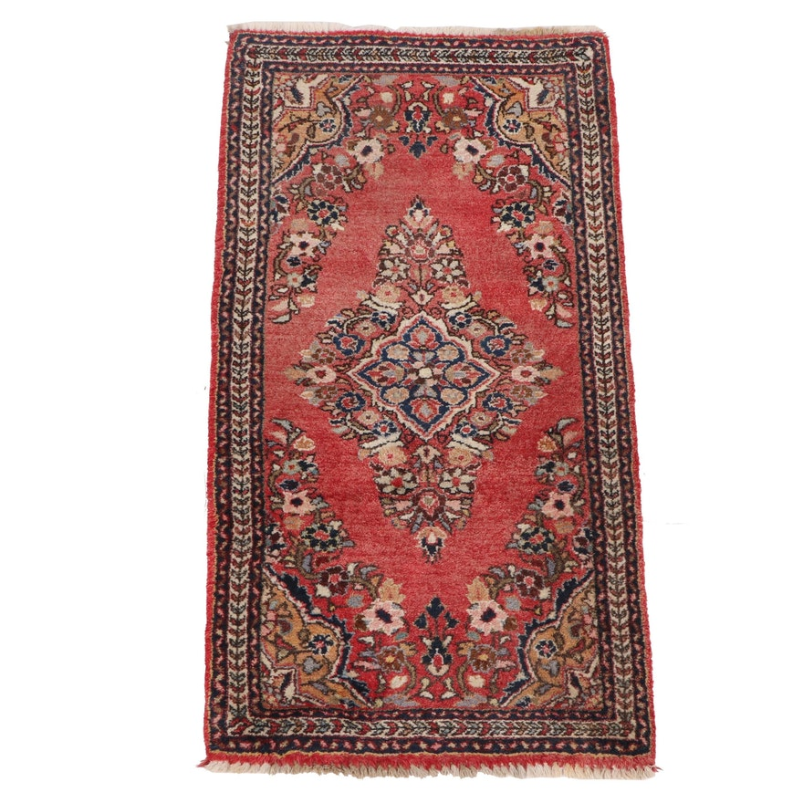 Hand-Knotted Persian Arak Wool Rug