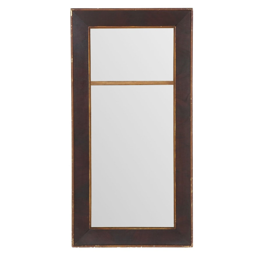 Vintage Frame with Double Pane Mirror