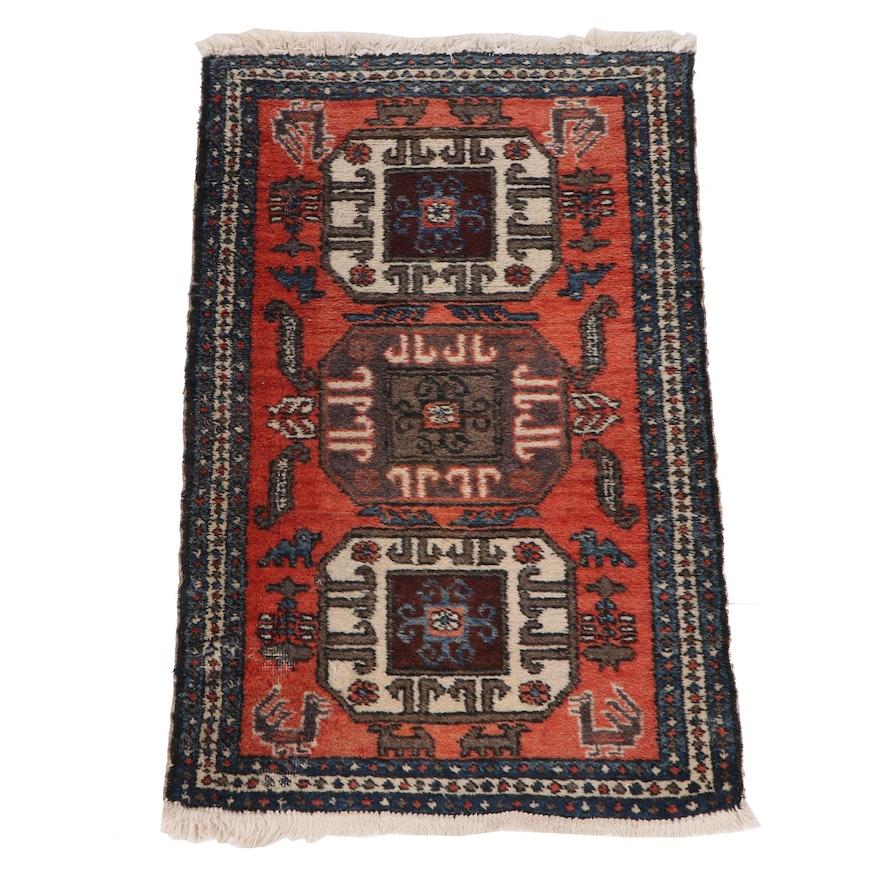 Hand-Knotted Anatolian Wool Rug