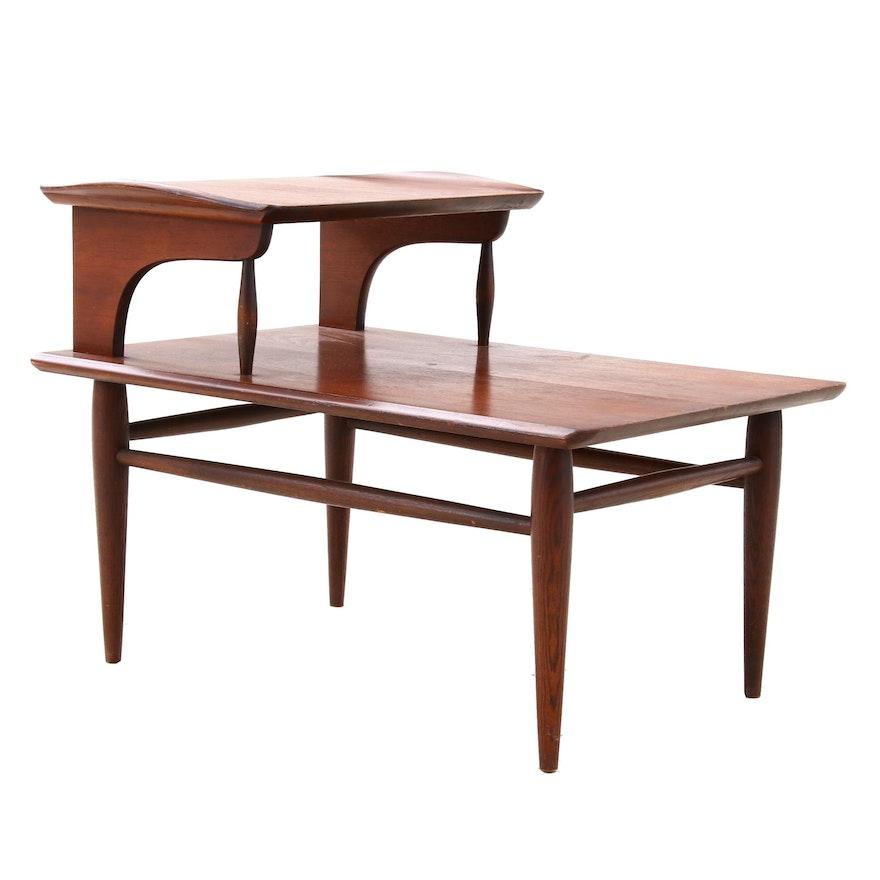 Lane Mid Century Modern Walnut End Table