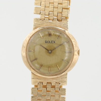 Rolex Cellini 14K Yellow Gold Wristwatch
