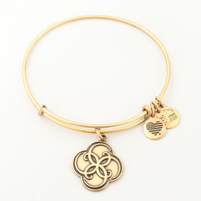 "Alex and Ani ""Breath of Life"" Bangle Bracelet"