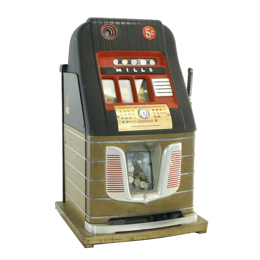 Mills Industries Inc., Five Cent Slot Machine