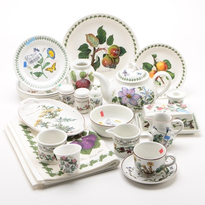 "Portmeirion ""Botanic Garden,"" Villeroy & Boch ""Botanica"" and Other Dinnerware"