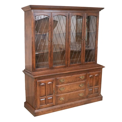 Ethan Allen China Cabinet, Late 20th Century