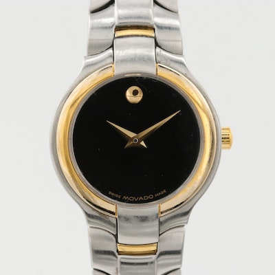 "Movado ""Museum Piece"" Stainless Steel Quartz Wristwatch"