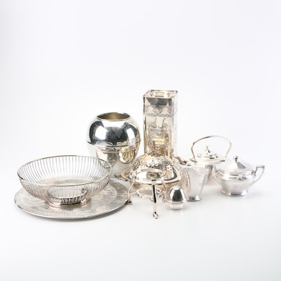 Silver-plate Serveware and Decor