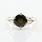 Sterling Silver 2.55 CT Tourmaline Ring
