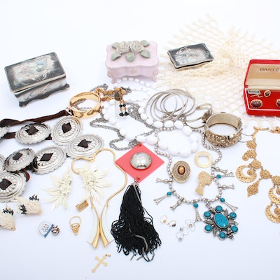 Costume Jewelry and Vanity Accessories