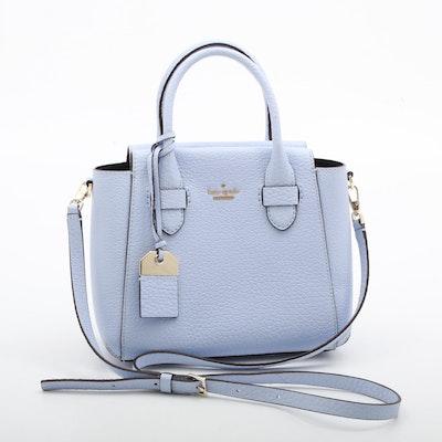 Kate Spade New York Lavender Pebbled Leather Convertible Handbag