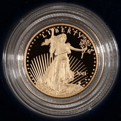 2011-W Five Dollar Proof Gold Eagle 1/10 oz. Bullion Coin