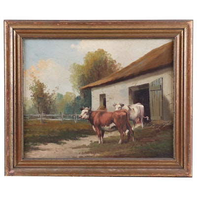 Viatto Pastoral Oil Painting